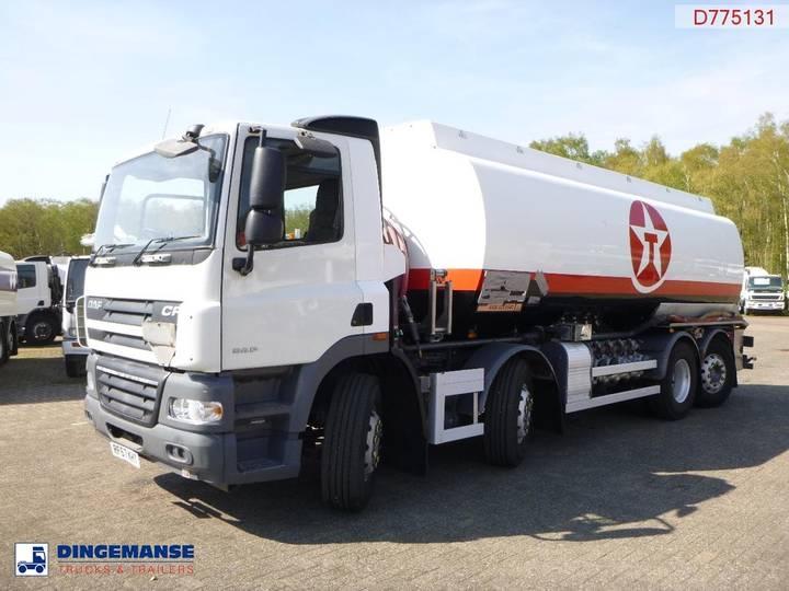 DAF CF 85.360 8x2 RHD fuel tank 25 m3 / 6 comp - 2007