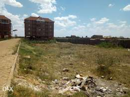 Thika commercial plot for sale.