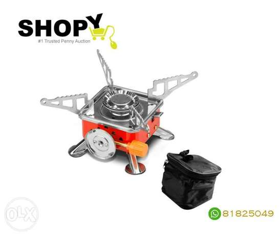 Portable Outdoor Picnic Gas Burner Card Type Camping Stove