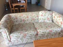 Couch lounge floral
