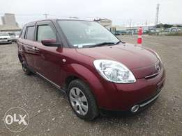 Mazda Verisa Year 2011 Model Automatic Transmission Wine Red Color