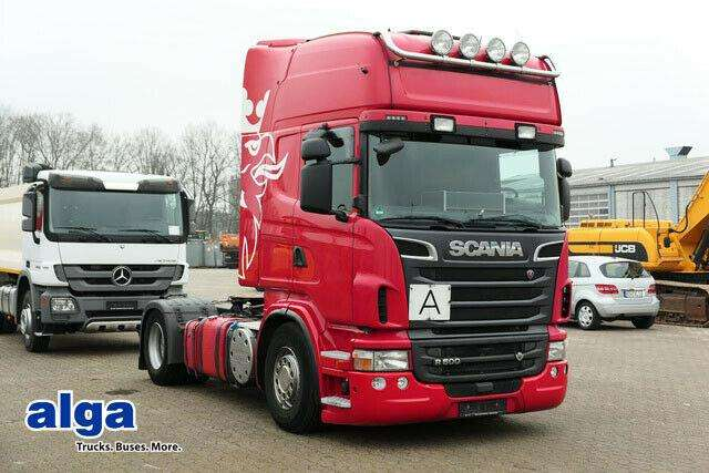 Scania R500 La Mna, V8 Motor, Topliner, Hydr. Anlage - 2012