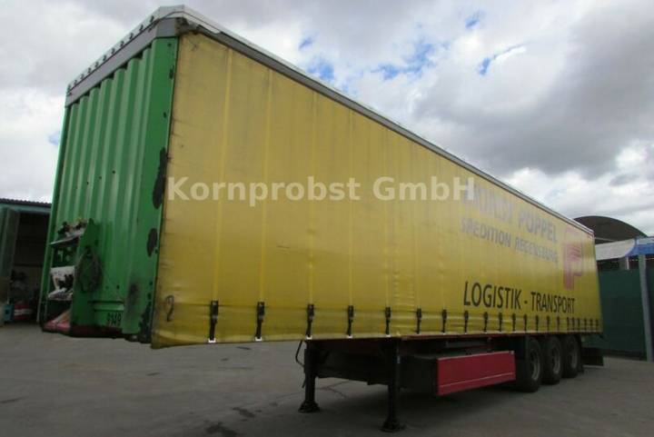 Krone SD - Tautliner LIFTACHSE Nr.: 876 - 2007