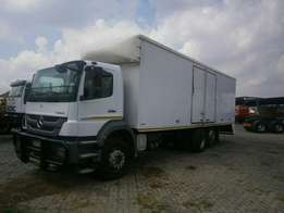 Truck MERCEDES-BENZ 2528 LWB for sale.