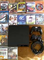 Playstation 3 slim with a lot extra
