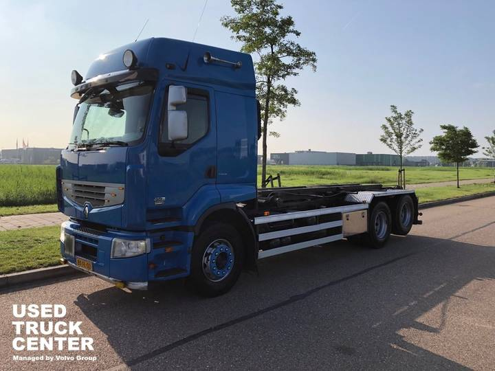 Renault PREMIUM 450.26 6X2 DL NCH cable system 20T - 2009