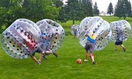 Bubble Soccer Balls for Hire for Parties and Team building