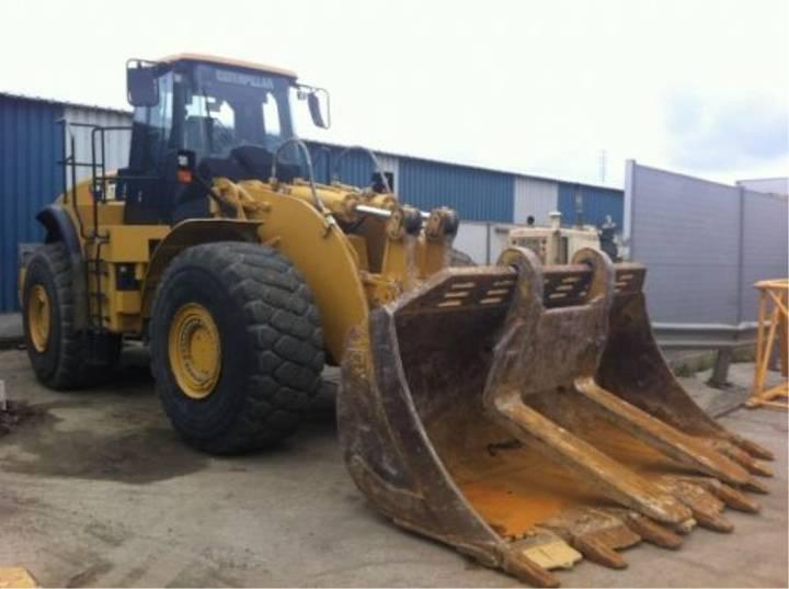 Caterpillar CAT 980H Block Handler _ 2011 - 2011