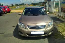Toyota Corolla 1.6 Advanced 2010 for sale. R64000