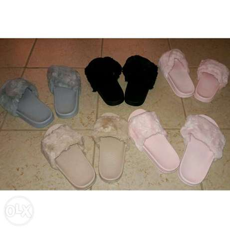 Ladies summer fur slides Nairobi CBD - image 1