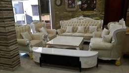 Royal executive sofa with Venter table and plasma tv stand