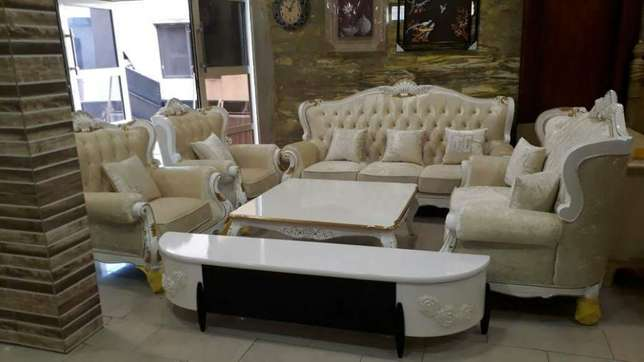 Royal executive sofa with Venter table and plasma tv stand Epe - image 1