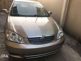 2004 Toyota Corolla tokumbo for sale