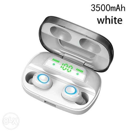 9D HIFI Tws Bluetooth 5.0 Wireless Earphones S11 Touch Control In Ear الرياض -  5