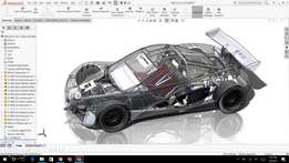 Home taught courses in Solidworks, AutoCAD 3D and Revit