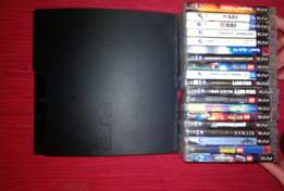 2 x PS3 consols with controls and games
