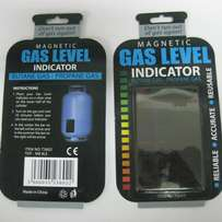 Gas level indicator