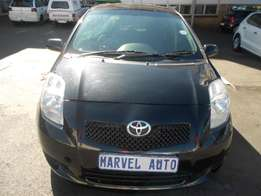 2007 Toyota Yaris 1.3 T3+ 5-Door For R65000