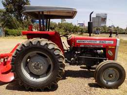 Brand New Massey Ferguson 60Hp. Free Plough and Manufucturer Warr