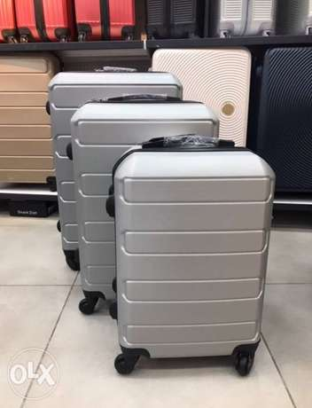 Set of 3 Swiss Suitcase Grey Color.
