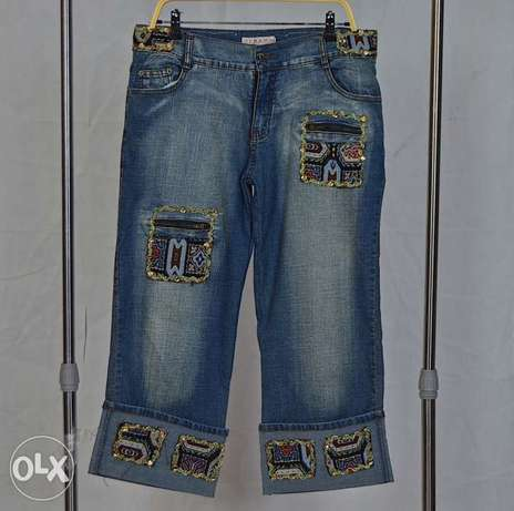 Bohemian Styled Jeans