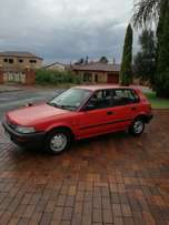 Toyota for sale tazz shape (URGENT )
