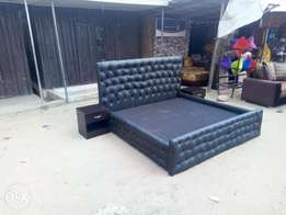 Kings size Leatherbed