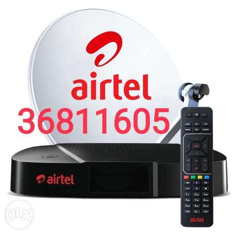 Airtel new dish and shifting, repair everything contact