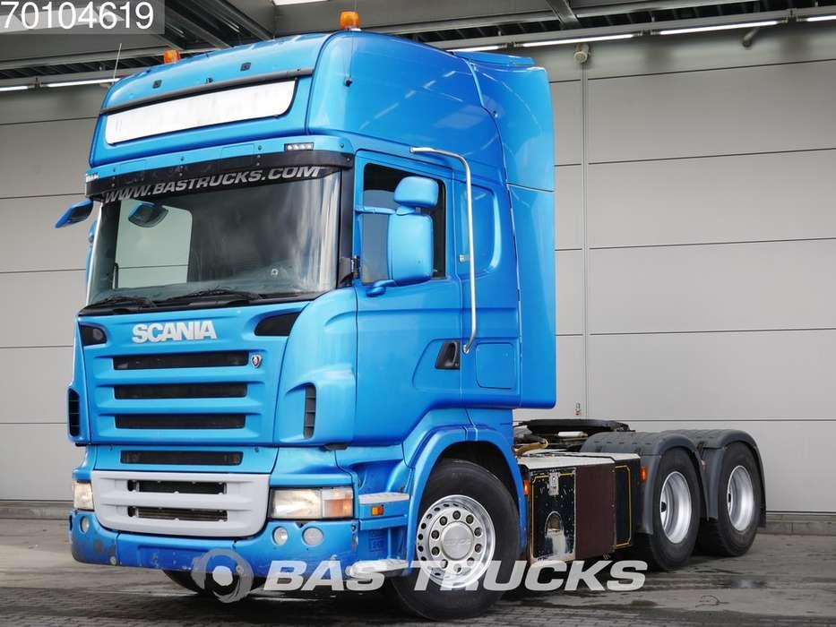 Scania R 480 6X4 Manual Hydraulik Euro 4 - 2007