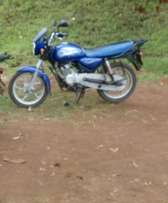 Selling bajaj bm 150 and is in gd condition. All documents available.