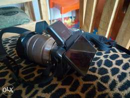 A very clean sony alpha NEX-3 camera with an 18-55mm lens. Comes with