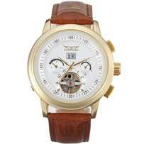 Men's Luxury Classic Sapphire Screen Leather Watch JAG16