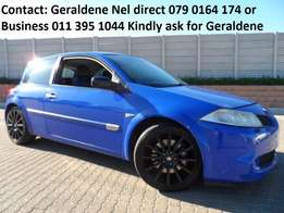2006 Renault Megane II 2.0T Sport F1 Excellent Buy 132000kms Call Now