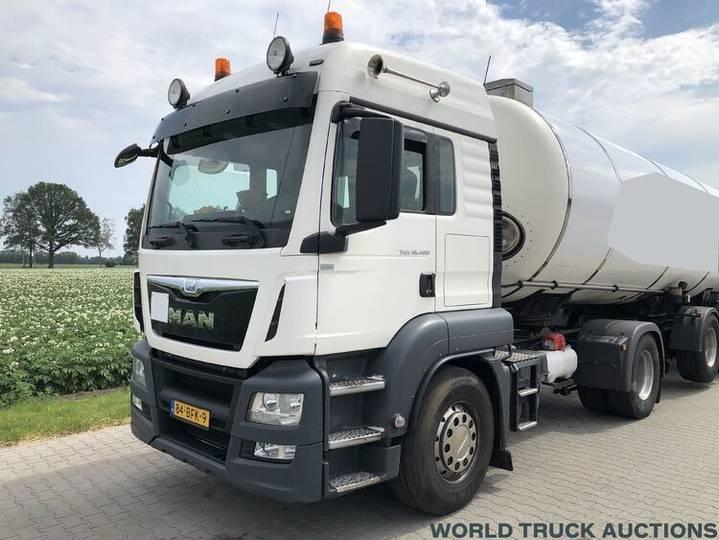 MAN TGS 18.400 | 4x2 | Euro 6 + PTO | Semi-Truck | 2015 - 2014