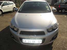Finance is available for 2013 Chevrolet sonic with 29 000km