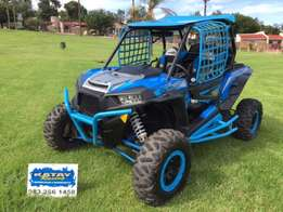 2016 Polaris RZR 1000 XP Turbo : demo : (electric Blue