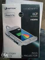 I phone 5 and 5s projector and battery charger