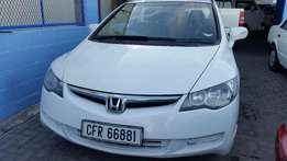 2007 Honda Civic 1.8 i-VTEC EXi 4-door