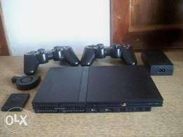 Ps2 game console.
