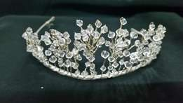 Wedding Christal Snowflake Tiara
