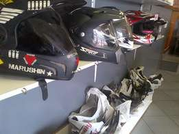 Helmets new or secondhand