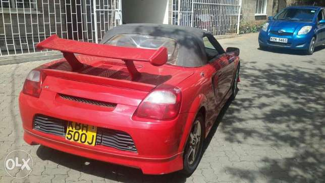 Toyota MR2 Convertible. Thindigwa - image 8