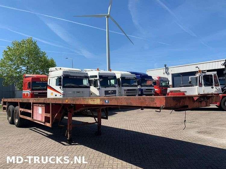 METALOVOUGA  flat trailer steel suspension - 1984