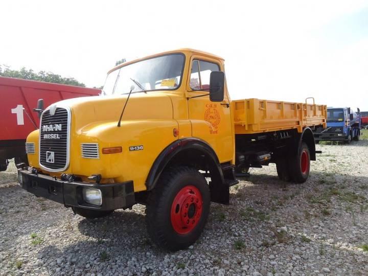 MAN 11.136 - 4x4 Cargo - 1977