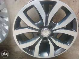 factory allowed rim for benz size18