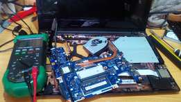 Laptop repair from ksh. 1000