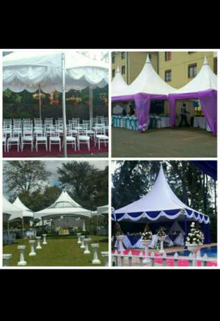 Tents, chairs,tables, deco, stage , PA and lights for hire. Spectrum. Nairobi CBD - image 1