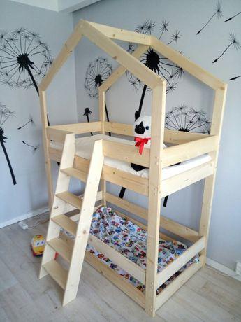 łóżko Domek W Stylu Skandynawskim Pietrowe Zduńska Wola Olxpl
