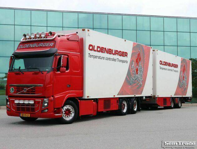 Volvo FH16 750 6X2 FULL OPTIONS THERMO KING UT 50 CC C - 2012