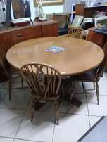 Solid Wood Dining Room Suite For SALE!